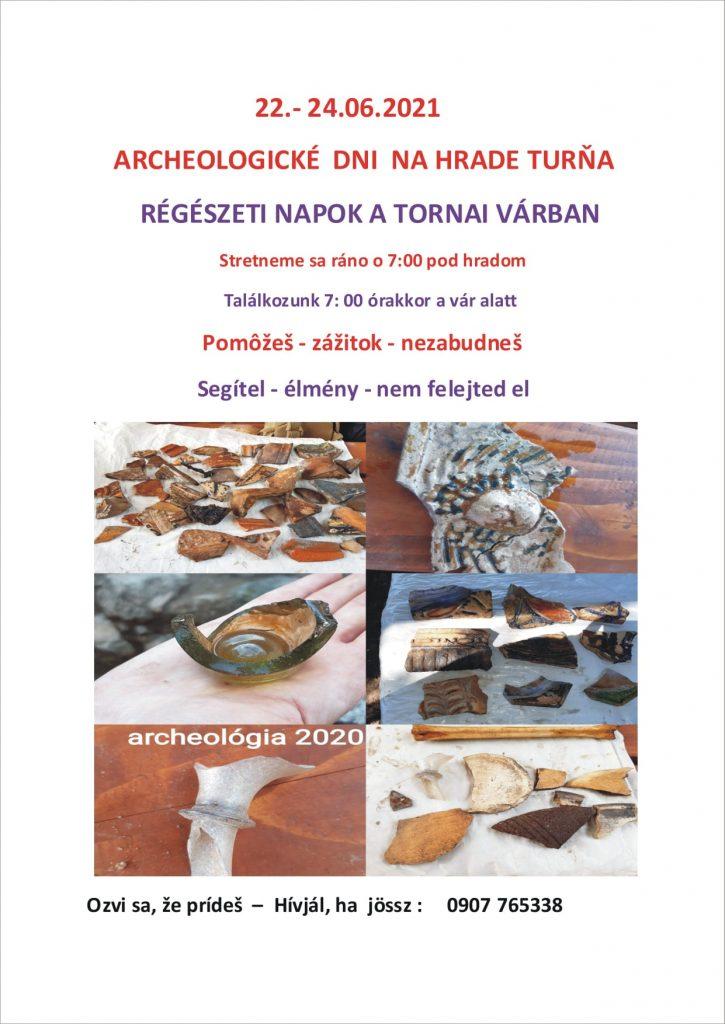 Archeologické dni na hrade Turňa